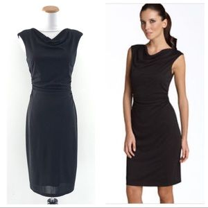 David Meister Rouched Dress